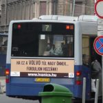 Bus advertisement not only for Volvo's people