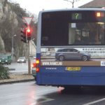 Volvo advertising on Volvo buses